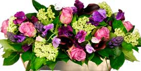 ABC Flowers Fitzroy Melbourne Deliver A024 Abbortsford Ceramic Colourful Flower Arrangement melbourn wide free delivery to all melbourne inner suburbs