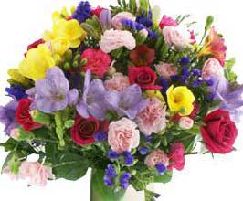 ABC Flowers st vincent's hospital fitzroy melbourne deliver b012 colorful seasonal flowers bouquet melbourne wide free melbourne inner suburbs delivery