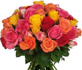 ABC Flowers st. vincent's hospital fitzroy melboure deliver b030 boquet of roses melbourne wide 7 days a week free delivery to all melbourne inner suburbs