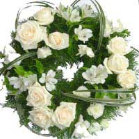 ABC Flowers st. vincent's hospital fitzroy melbourne deliver w003 modern wreath melbourne wide free delivery melbourne inner suburbs 7 days a week